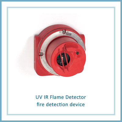 Uv Ir Flame Detector Fire Detection Device Marine Safety